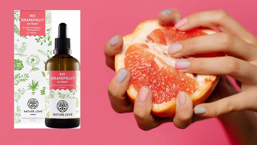 Testsieger: NATURE LOVE® Bio Grapefruitkernextrakt